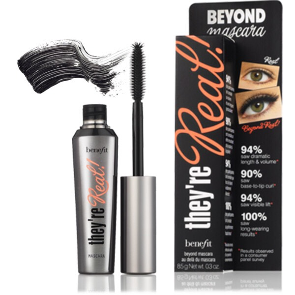 "THEYRE REAL By: benefit Available at: Ulta   I swear guys, EVERY SINGLE TIME i wear this mascara someone compliments me. They're like, ""those eyelashes doe"" 😂 or somethin like that. Intense volume/thickness man. I swear everyone loves this."