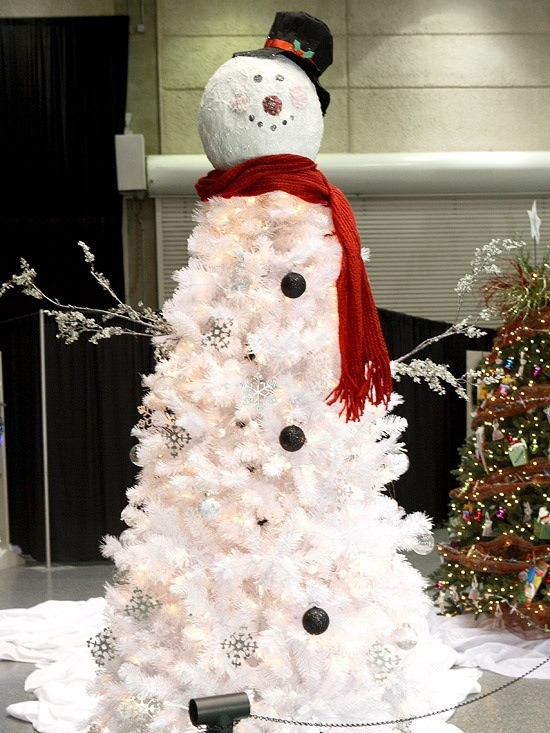Frosty Christmas Tree