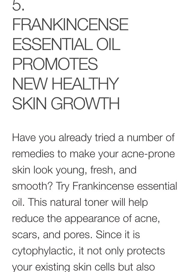 promotes new cell growth. Use this and you won't have to find anything else to deal with your sagging skin, wrinkles, and scars.