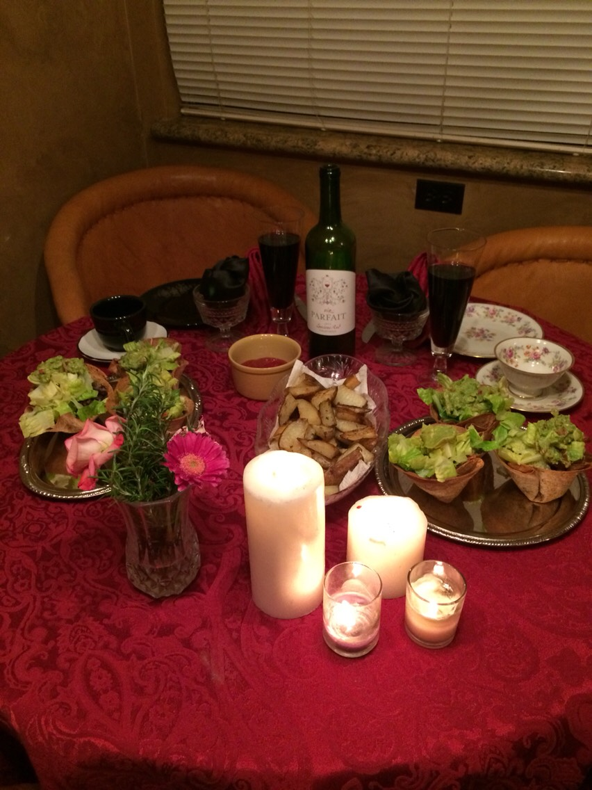 #5 Nighttime tea parties have Red Wine brah. #6 While you eat chocolate covered strawberries and watch Friends! #7 oven roasted potatoe wedges yo,cut em up however toss in olive oil sal pepper some oregano paprika just be a bruja throw it all.roast at 400 for 30minwith some ketchup ranch ayyyyyyy