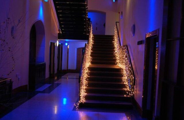 5. Starlight, Stairbright: String lights along your railing for a more modern and intimate feel to your home.