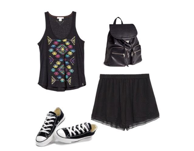 Shirt- backcountry.com  Shorts - theoutnet.com  Shoes - topfanshoes.co  Bag - hm.com