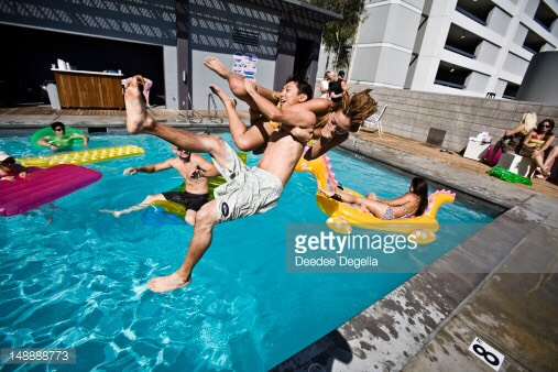 Have a pool party