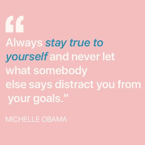 always stay true to yourself