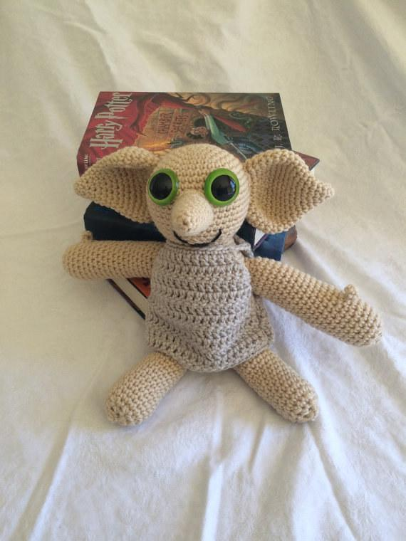 18. Your baby's new best friend — this crocheted Dobby doll.  $45