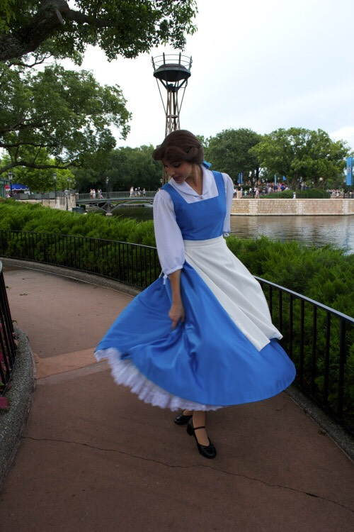 Belle Found in France in the World Showcase.