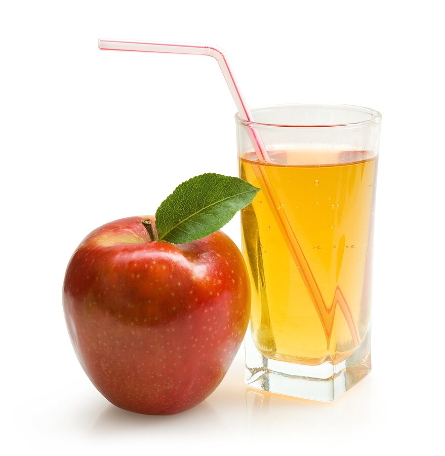 1L of clear apple juice