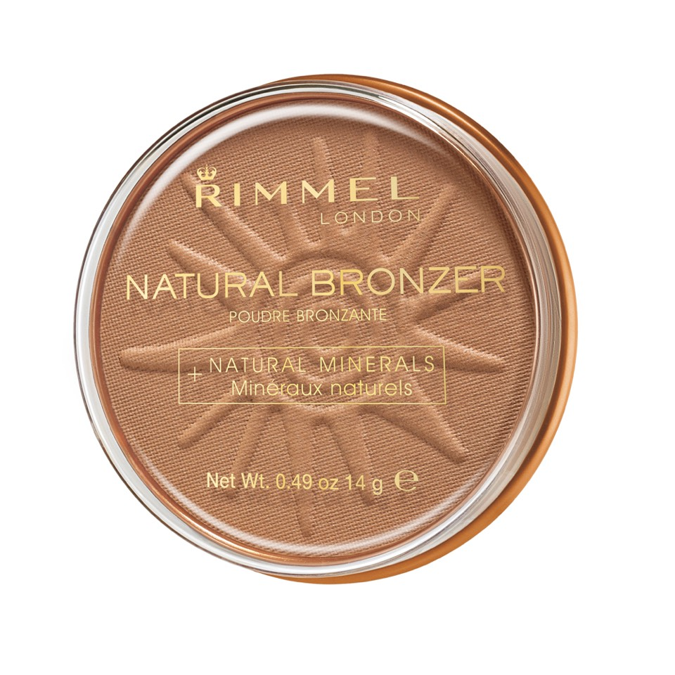 The Rimmel Bronzer gives you a natural bronzed look and has no shimmer making it look even more natural
