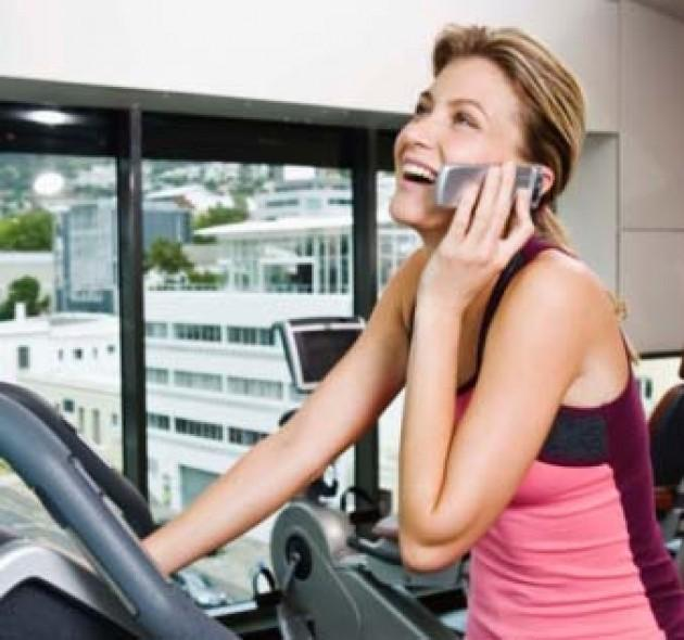 1. Leave The Cell Phone in your locker. If you need to take a call leave the workout area.