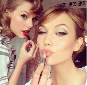 Taylor Swift  Tay's go-to reds are Ruby Woo (like Rita!) and NARS' Dragon Girl ($25, shopstyle.com).
