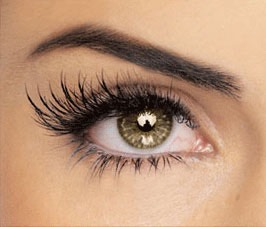 When applying mascara, make sure to coat both sides of your eyelashes.