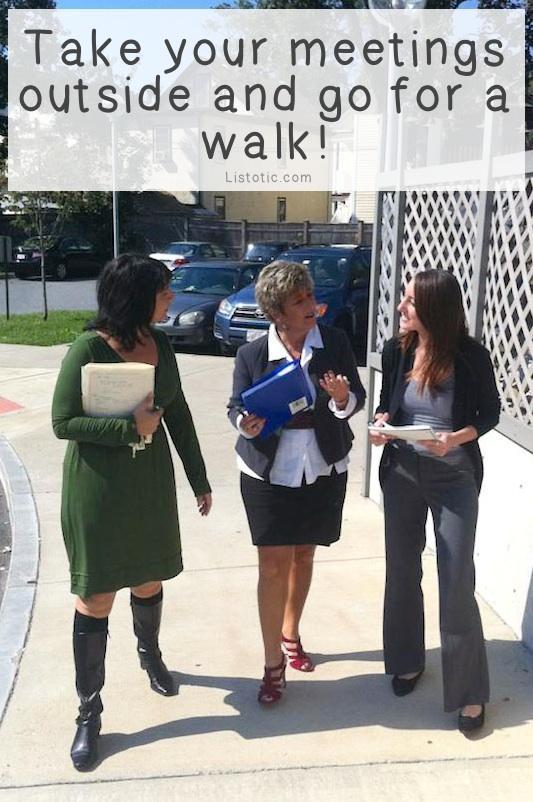 5. Walking Meetings