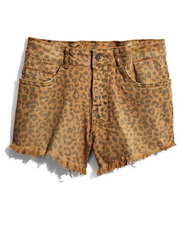 Leopard Cut-Offs Let out your wild side in animal print shorts!  ZooShoo cutoffs