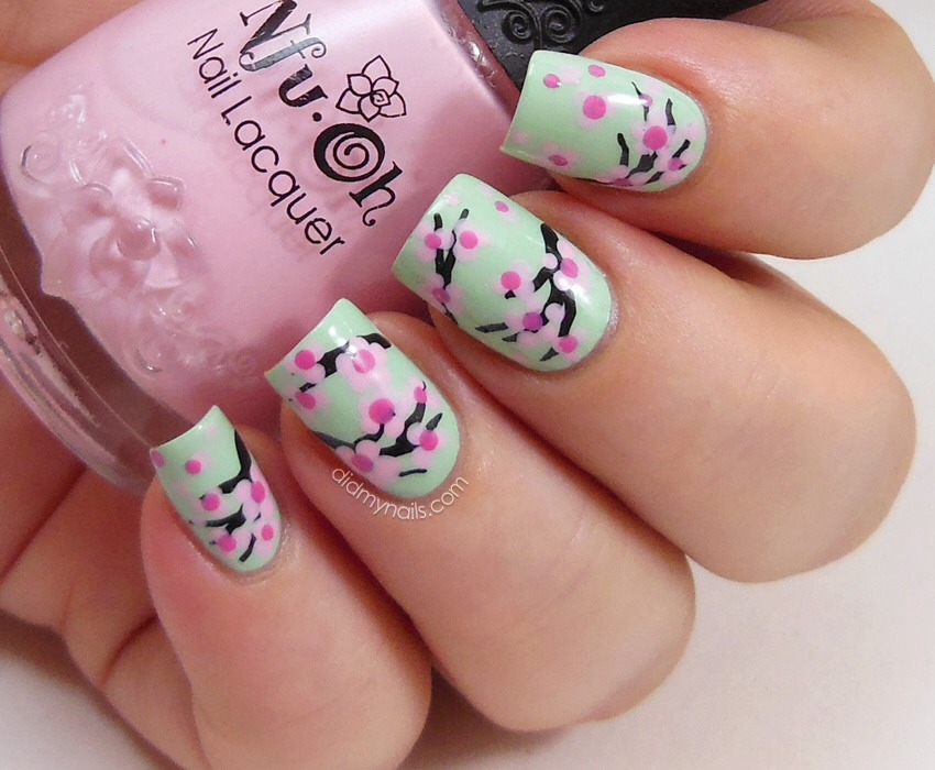 Cherry blossom uses some beautiful floral colours