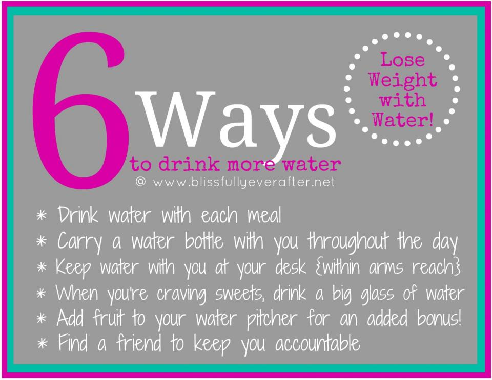 This really helps you remember to drink more water throughout the day!