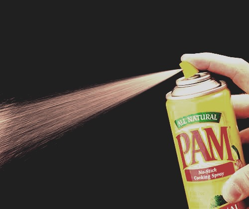 A fast way to dry your nails is to spray Pam cooking spray on them.