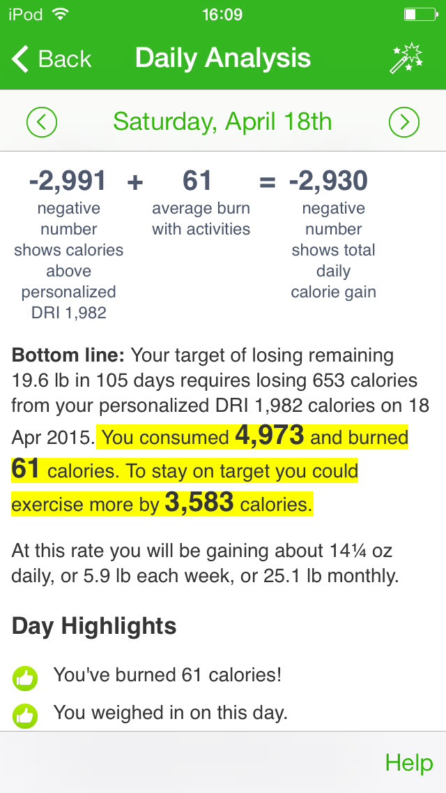You can track your progress