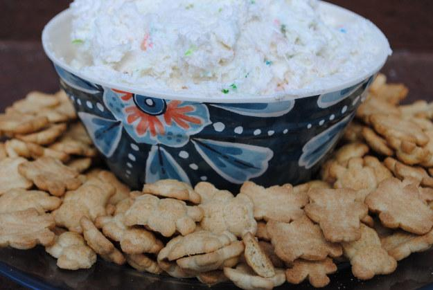 52. Dunkaroos Dip  http://spoonuniversity.com/cook/this-dunkaroos-recipe-will-give-you-severe-childhood-flashbacks/?utm_source=buzzfeed&utm_medium=referral&utm_campaign=content-partnerships