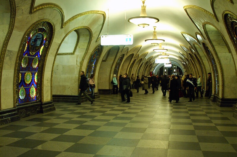 Metro 2, Moscow, Russia This is a purported secret underground metro system in Moscow. It is built by Stalin for the use by Russian secret services.