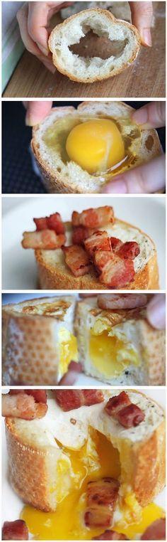 egg and bakon