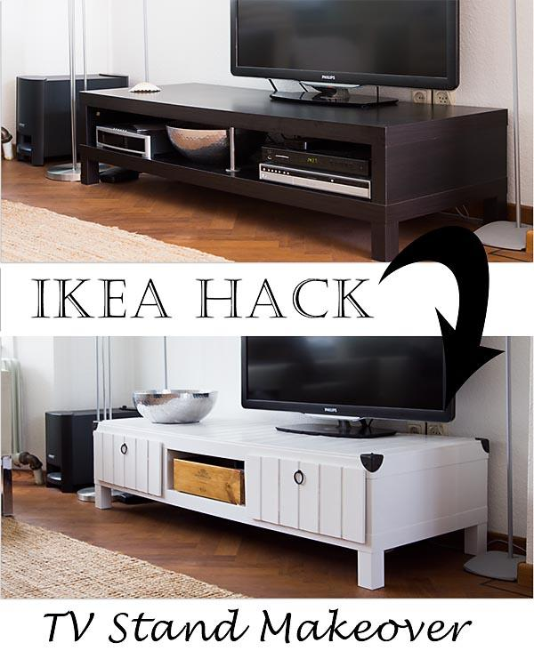 Ikea Lack TV Stand Makeover