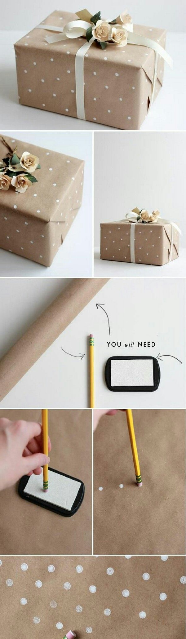 You'll need Plain paper , pencil with a rubber behind and white stamp pad. you can find in Amazon. You can also change the sheet color. Black looks awesome too.