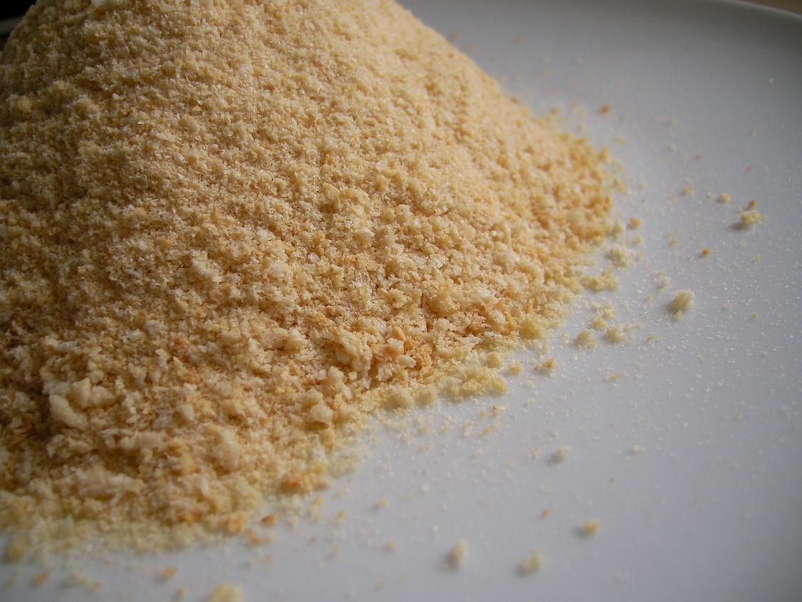 4 tsp. bread crumbs