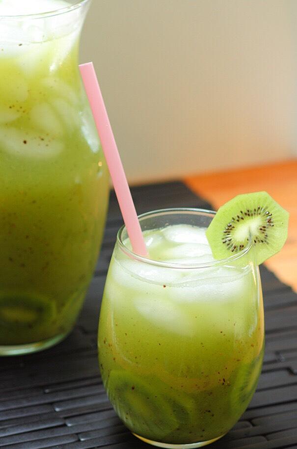 Kiwi and cucumber