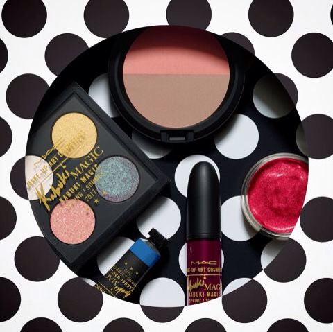 """Kabukihaspainted some of the world's most famous faces!  """"MAC gave me complete freedom with this collection & Iturned my wish list into reality. Whether you're a make-up artist or if you just like getting dolled up, you will love the colours, textures & long-lasting wearability of these products."""