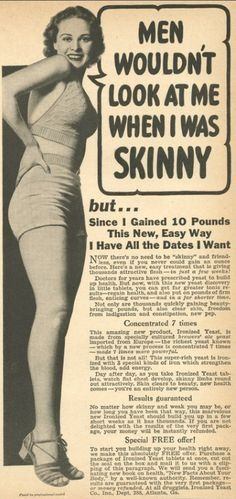 Being skinny doesn't mean you're beautiful. Being skinny doesn't mean you are healthy. Being any size has nothing to do with your character or your beauty. Beauty starts on the inside.