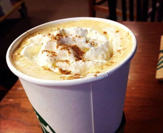 If they run out of Pumpkin Spice Latte at the end of the season and you really crave it, ask for one pump each of chai and white chocolate mocha.