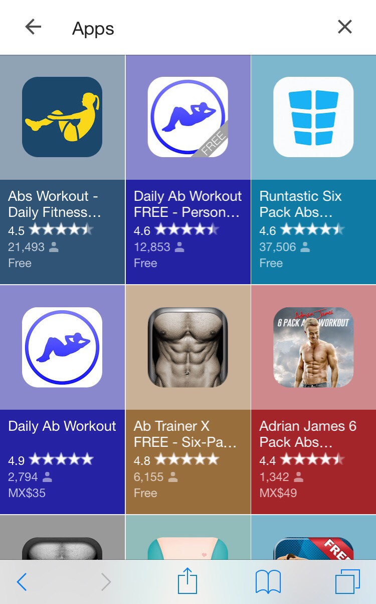 These are some apps to download which can help you start working out !