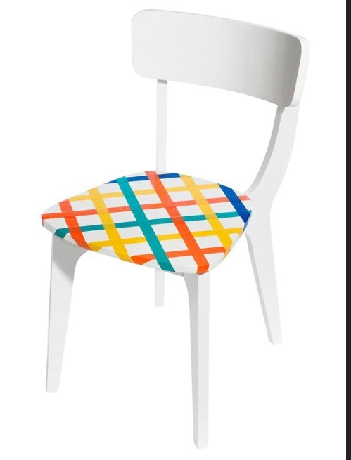 Turn old boring chair into a personalized cute chair!💖