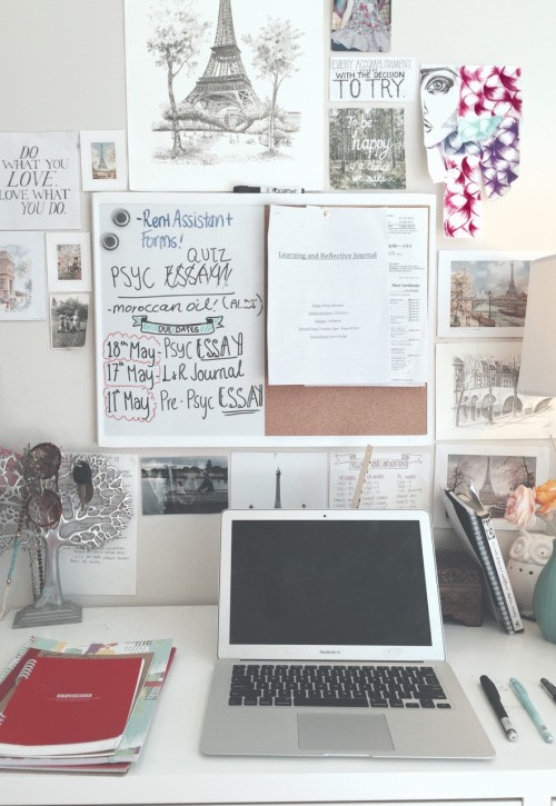 Have a study space