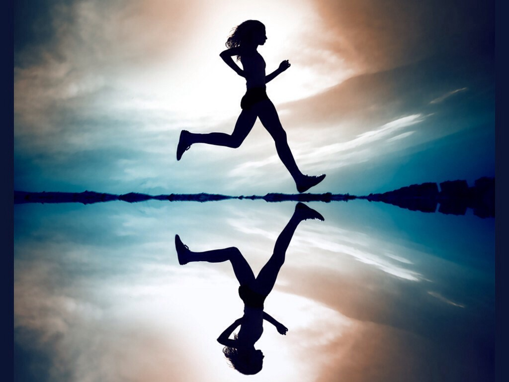 Throughout your run focus on your breathing