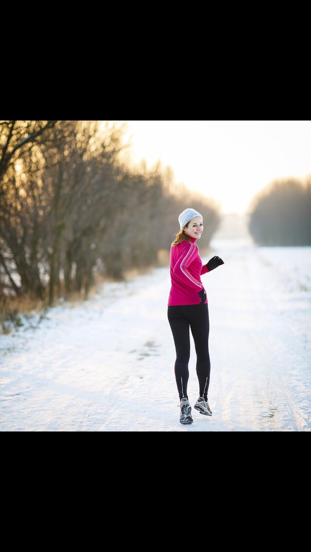 Running can relive winter depression!