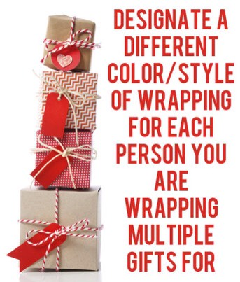 22. Tie ribbon around plain, unwrapped boxes for a simple look that still feels elegant.
