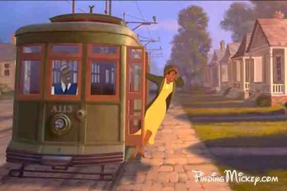 """It's coming right for you in """"The Princess and the Frog."""""""