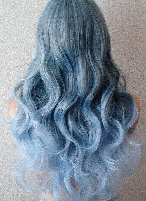 3. Pastel Blue Ombre Hair