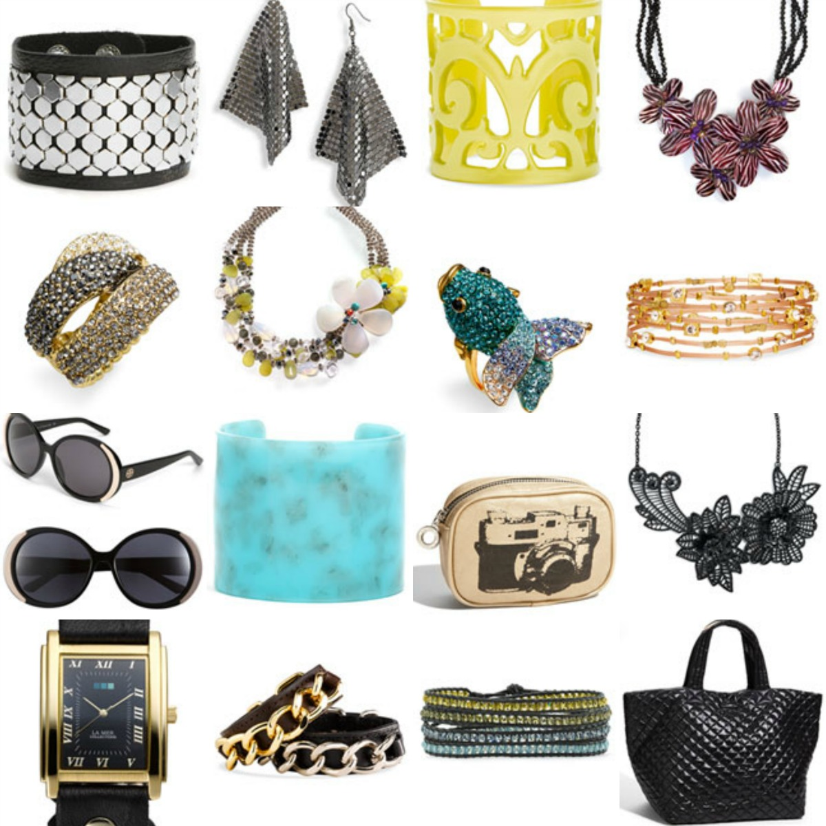 Accessories✨ If you carry around a purse they think of high maintenance, and book you are cool.