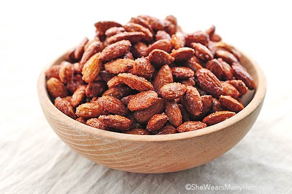 Roasted almonds (150) 1/4 per cup