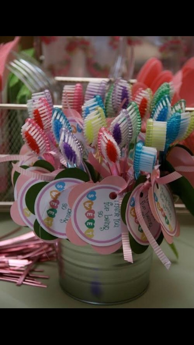 Personalised toothbrushes