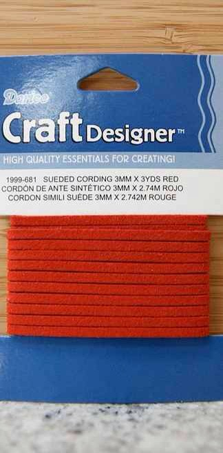 29. Cover your unsightly cords with suede cording you can buy at any craft store.