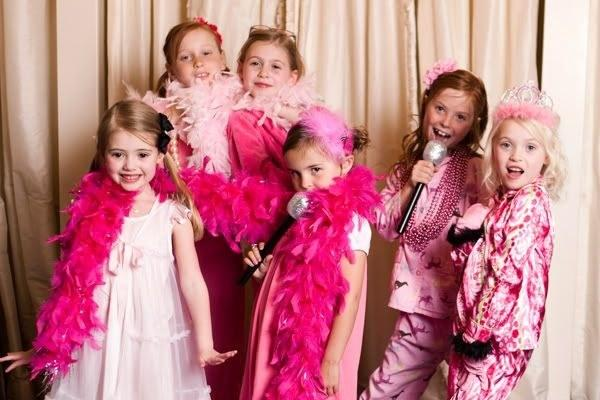 8. Set up a glam and rock n' roll photo booth.