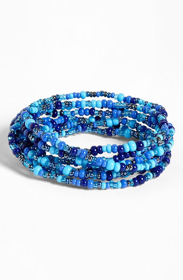 Rafiki Bracelets - these bracelets are made by the Mamas in Kenya. By buying this, you can help Me to We donate money for water, education, and other cause. You can purchase this on MetoWe's website