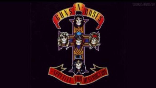 "7. ""Paradise City"" by Guns N' Roses"