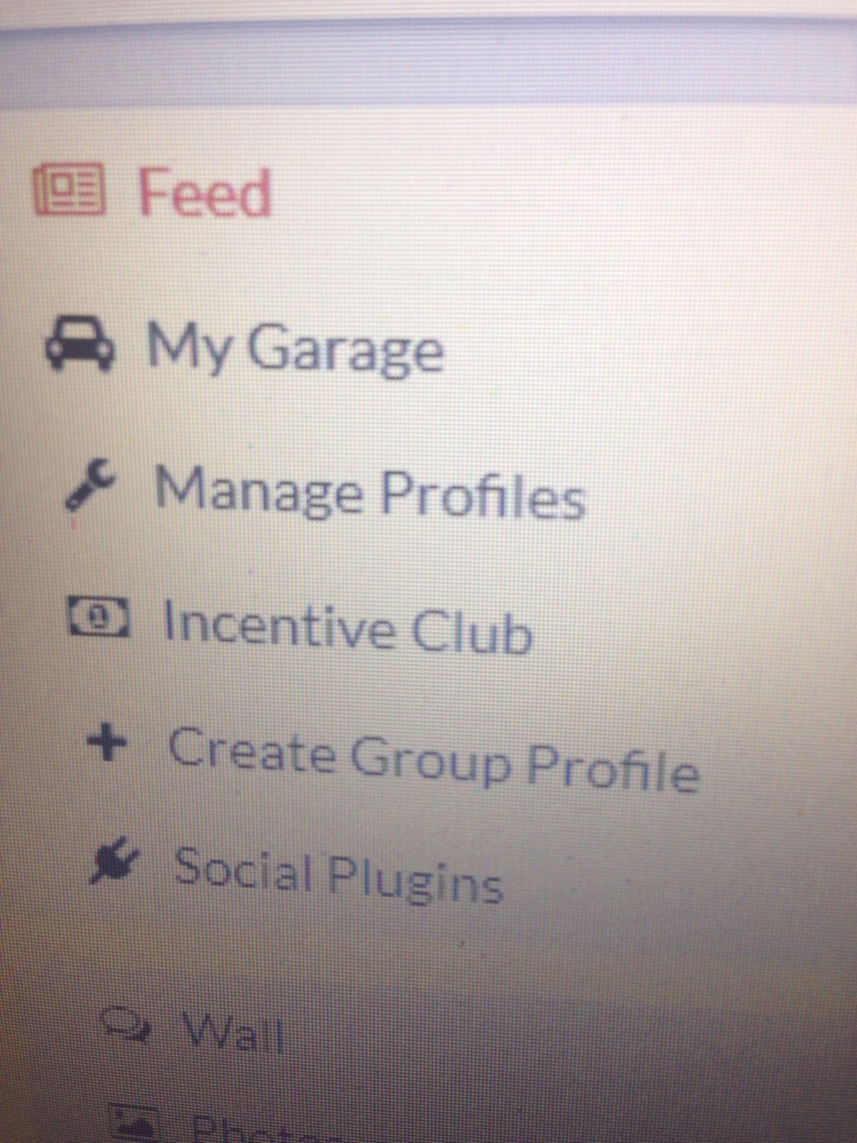 """Click on """"incentives club"""""""