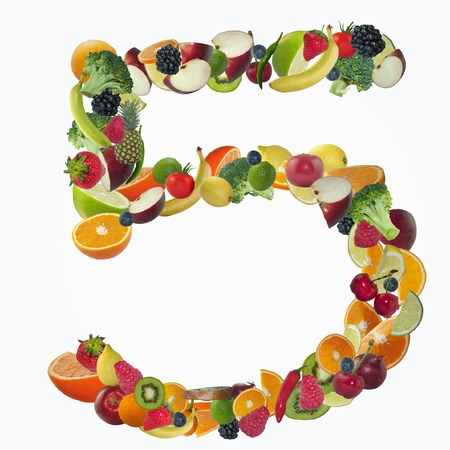 5 Fruits/Veg  Fruit and veg are low in calories,fat and high in fibre. Food low in: Calories Fat Fibre are three essential ingredients for WEIGHT LOSS.