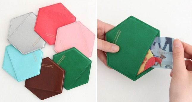 Honeycomb Card Case ($24)