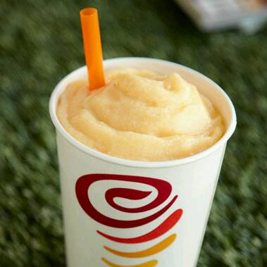 Orange Dream Machine Smoothie  ½ cup orange juice ½ cup soy milk 1 cup vanilla nonfat frozen yogurt 1 cup orange sherbet 1 cup ice